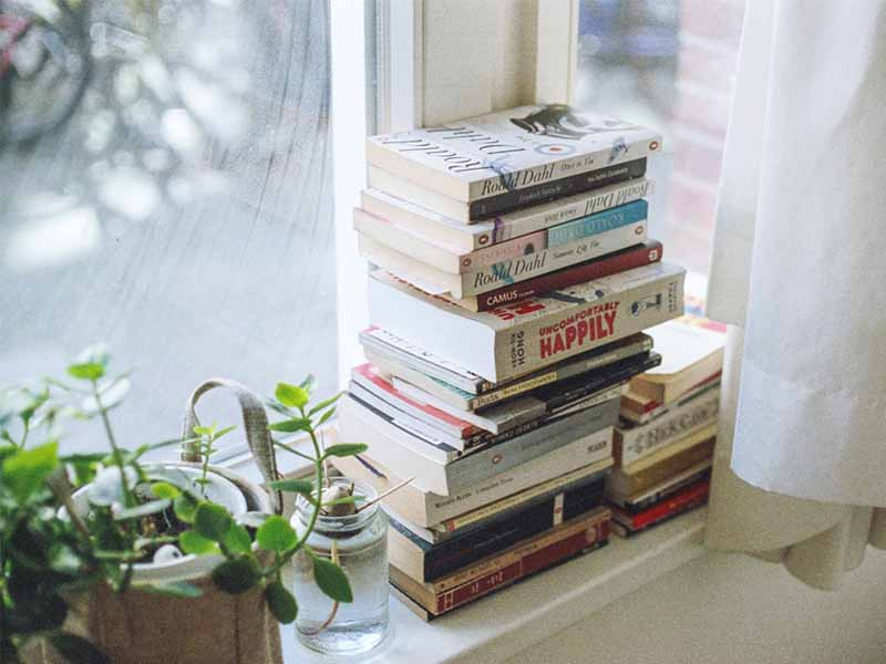 แนะนำหนังสืออยู่บ้าน